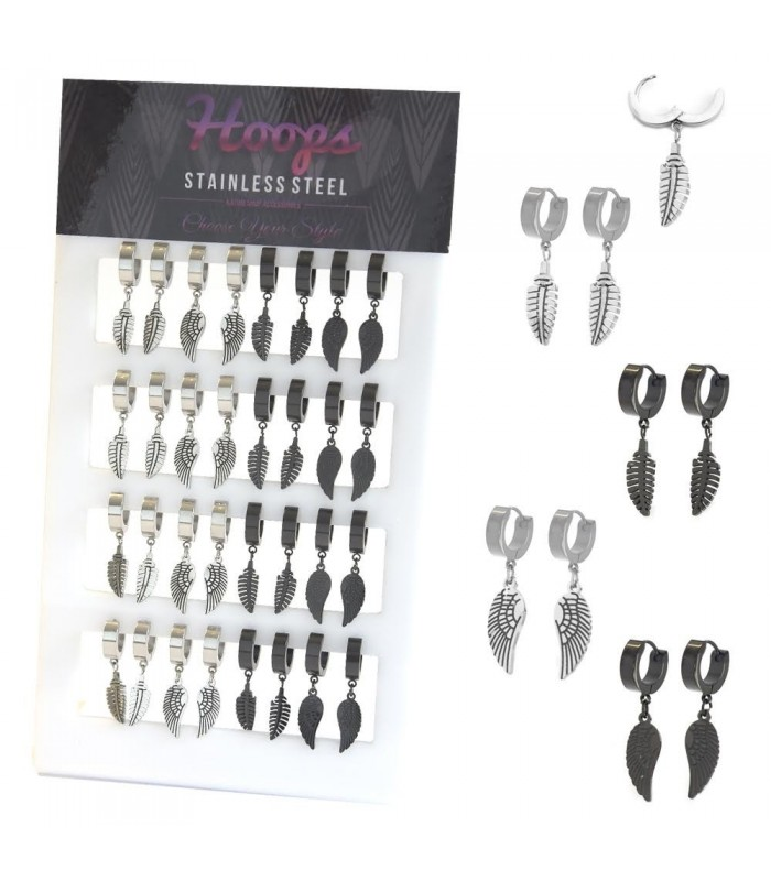 Feather/Wing Steel Hoops Stand - HAGS5088