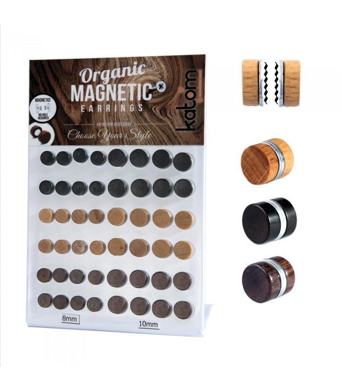 Expositor de falsas dilataciones magnéticas de madera - FPM5