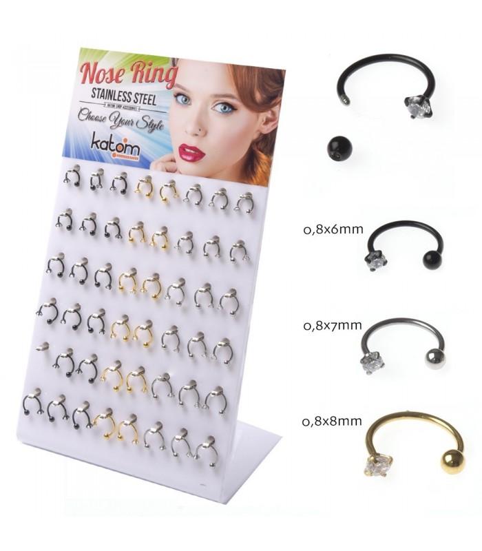 Expositor de aros nariz - BEL104CR