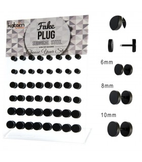 Mat black illusion plug display - IP1519