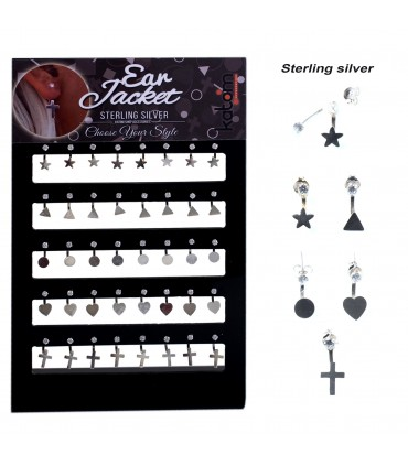 Ear Jacket earrings display - EJ3