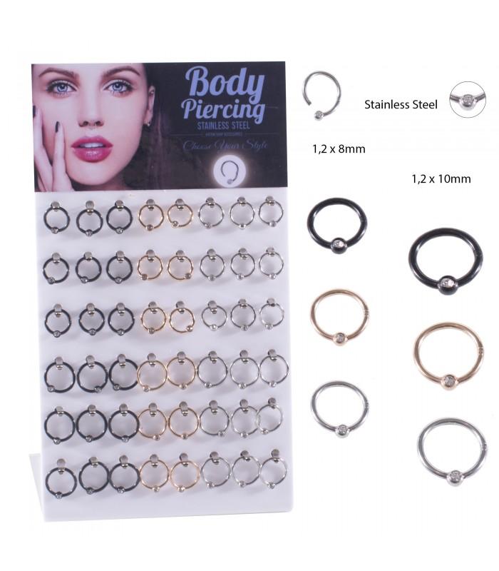Expositor de Body Piercing /Septum - SEP209