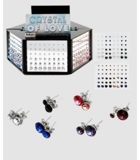 Exhibitor swarovski earrings - PEN288