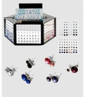 Exhibitor swarovski earrings - PEN288