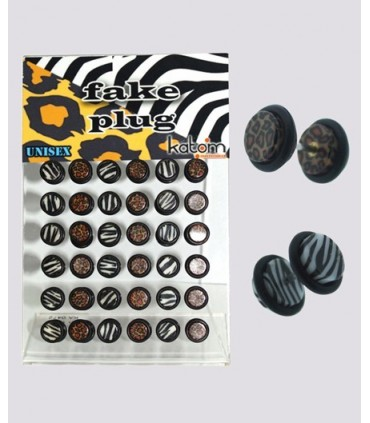 Illusion plug zebra and Leopard - IP1025ZL