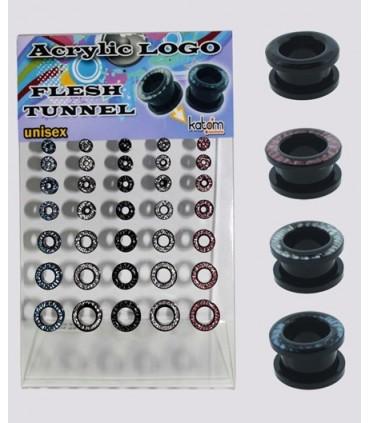 Exhibitor ear plugs acrylic - EP2025