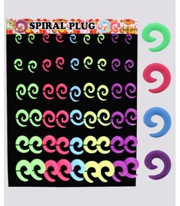 Expositor dilatadores espirales colores - EXP3017