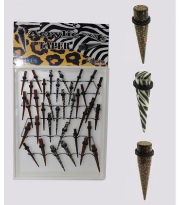 Expositor dilatadores Cebra leopardo - EPT2700