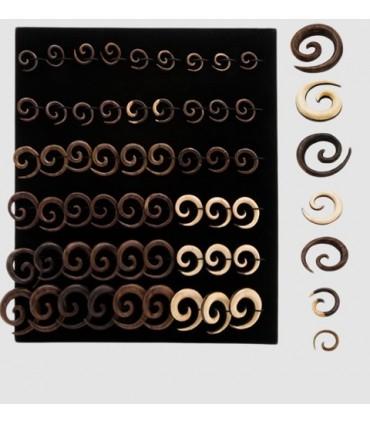Spiral dilators Exhibitor wood - EXP3020