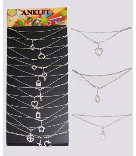Exhibitor anklet Crystal - ANK2000