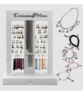 Charms with clips to mount collarers and bracelets - EM100