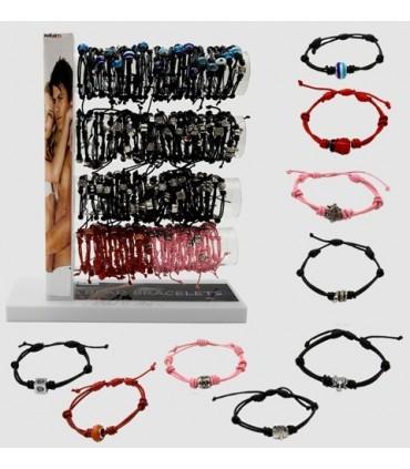 Leather bracelets adjustable piece - PUL21