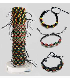 Display Rasta bracelet PUL41