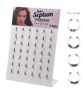 Exhibitor fake septum tribal - FSB