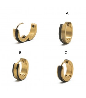 Exhibitor design Steel Rings - HAGS5019GOLD