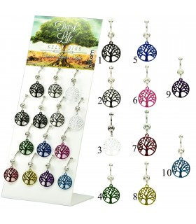 exhibitor navel piercing tree of life