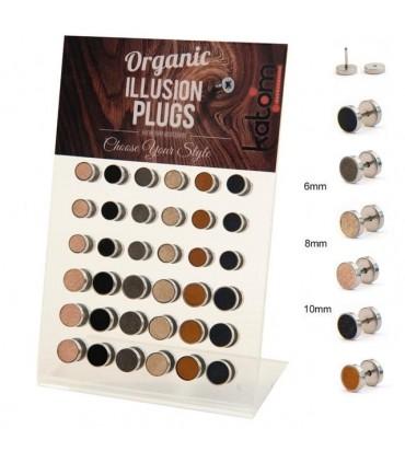 Organic Illusion Plug Display - IP1535