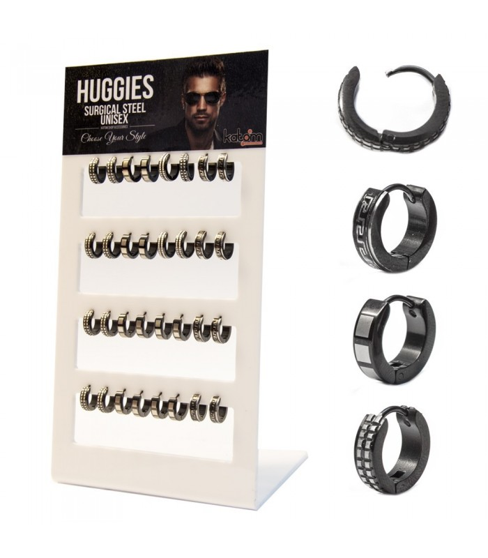 Steel Hoops Display - HAGS5028