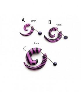 Falsa espiral Cebra lila - IP1460D