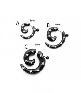 False spiral black and white IP1023D