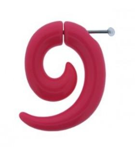 Falsa dilatación forma espiral color fucsia - IP1037FUXIA