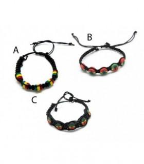 Rasta bracelet - Pul81d