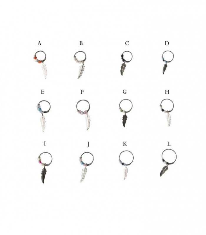 8868bcb41248 Aro pendiente de plata Atrapa sueños - ASP3D - Katom Accessories ...