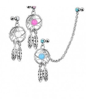 Piercing cartilage dream catcher - CDC10D