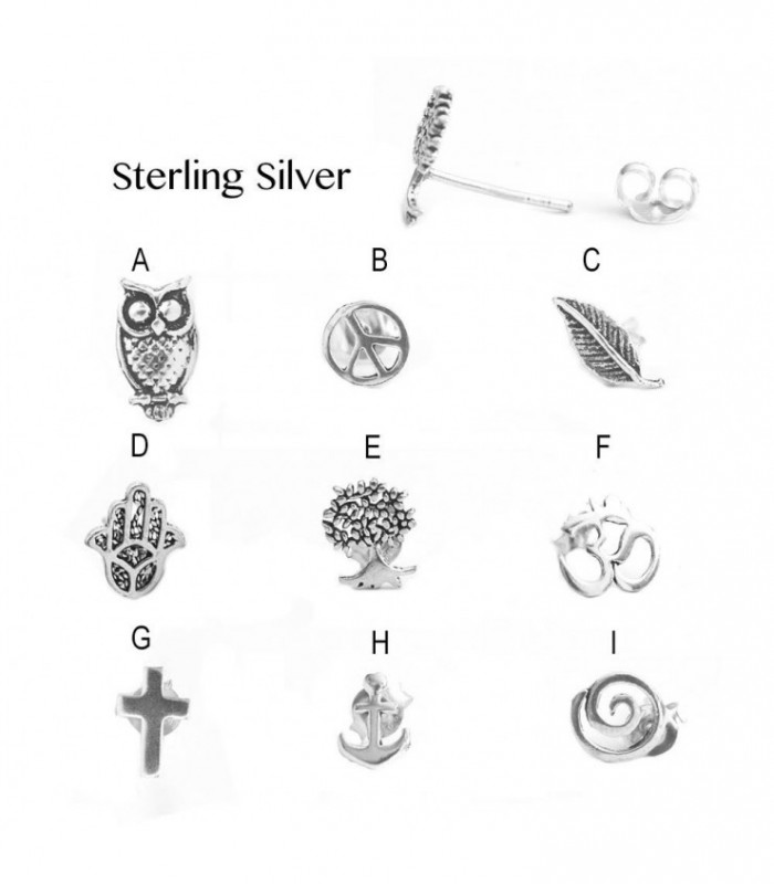 Sterling Silver Earring - PEN929D