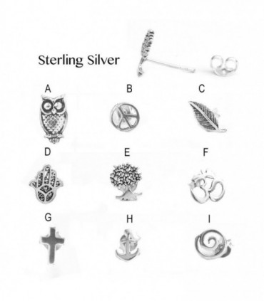 Sterling Silver Earring - PEN929D