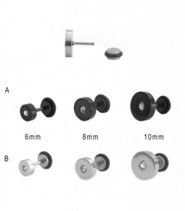 Faux piercing avec brillant  - IP1069D