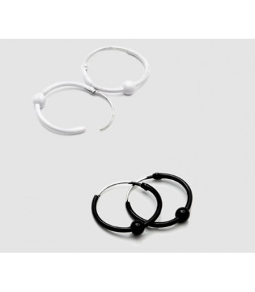 Hoops Silver black and white with ball - ARO4D