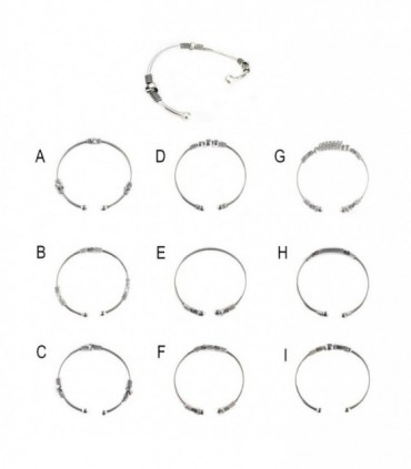 Bracelet Bangle - BANG1D