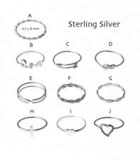 Silver ring - AN10D