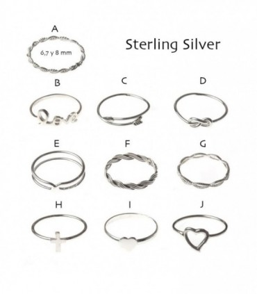Silver ring - AN10D