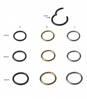 Septum segmento clicker - SEP205D