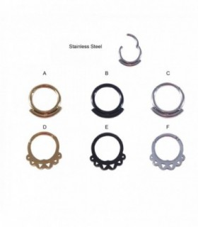 Body piercing clicker bisagra - SEP222D