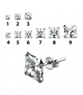 Pendientes plata - PEN150D
