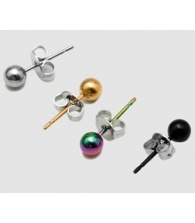 Earrings balls - PEN1120D