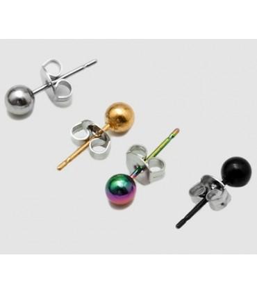 Earrings balls - PEN1120D
