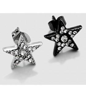 Earrings steel Rasta PEN1177D