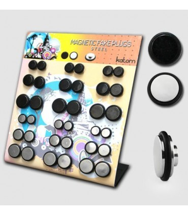 Illusion plugs with magnet - MAGIPS-D