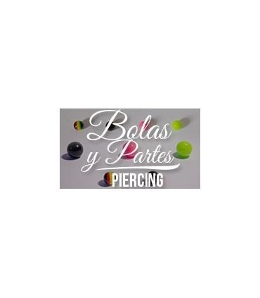 Bolas y partes piercings