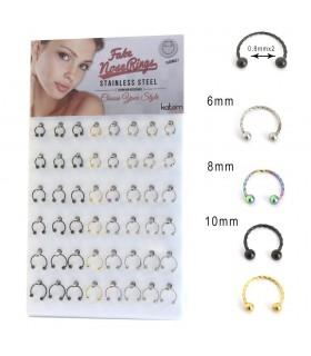 Fake nose ring stand - BEL111