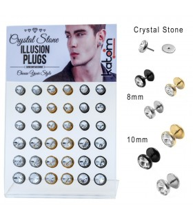 Crystal Illusion Plug Display - IP1009