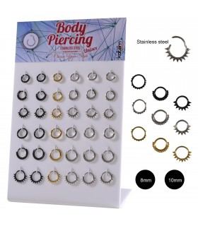 Aro body piercing segmento - SEP211