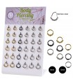 Feather hinged segment rings/Septum/Tragus - SEP210