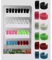 Exhibitor rings acrylic smooth color - HAGS5012