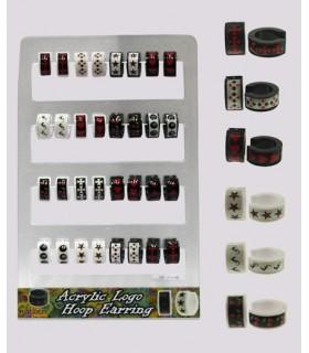 Expositor aros acrlico - HAGS5008