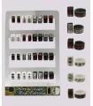 Acrylic hoops display - HAGS5008
